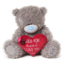 "20"" Message Heart Me to You Bear"