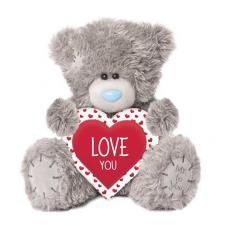 "10"" I Love You Heart Me to You Bear"