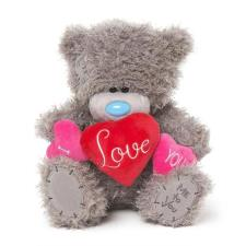 "10"" I Love You Padded Hearts Me to You Bear"
