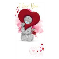 I Love You Me to You Bear Valentines Day Card