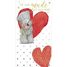Tatty Teddy Holding Flowers Me to You Bear Valentine's Day Card
