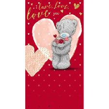 Tatty Teddy With Roses & Hearts Me to You Bear Valentine's Day Card