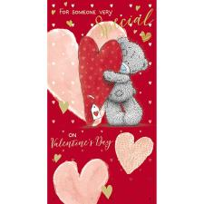 Someone Very Special Me to You Bear Valentine's Day Card