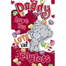 Daddy My Dinky Bear Me to You Valentine's Day Card