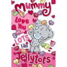 Mummy My Dinky Bear Me to You Valentine's Day Card