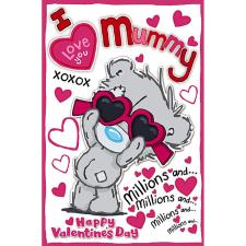 Mummy My Dinky Bear Me to You Bear Valentine's Day Card