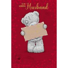 Wonderful Husband Me to You Bear Valentines Day Card