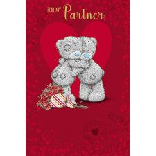 For My Partner Me to You Bear Valentines Day Card