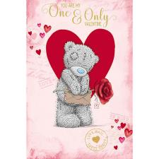 To My One & Only Me to You Bear Valentines Day Card