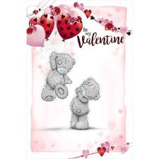 Be My Valentine Me to You Bear Valentine's Day Card