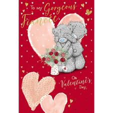 Gorgeous Fiancee Me to You Bear Valentine's Day Card