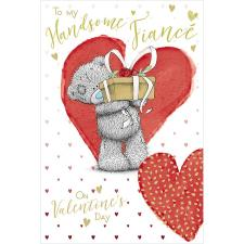 Handsome Fiance Me to You Bear Valentine's Day Card