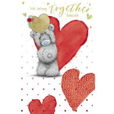 Love Heart Me to You Bear Valentine's Day Card