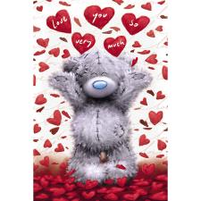Tatty Teddy Shower Of Hearts Me to You Bear Valentines Day Card