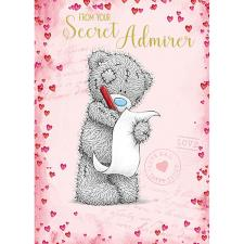 From Secret Admirer Me to You Bear Valentines Day Card