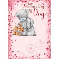 From The Dog Me to You Bear Valentines Day Card