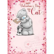 From The Cat Me to You Bear Valentines Day Card