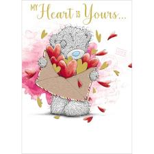 My Heart Is Yours Me to You Bear Valentines Day Card