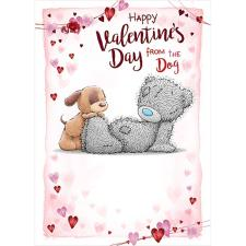 From The Dog Me to You Bear Valentine's Day Card