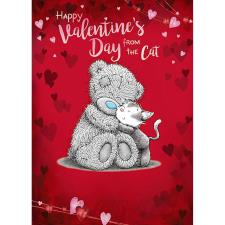 From The Cat Me to You Bear Valentine's Day Card