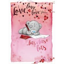 I Love You Me to You Bear Valentine's Day Card