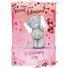 From You Secret Admirer Me to You Bear Valentine's Day Card
