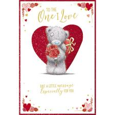 One I Love Pop Up Me to You Bear Valentine's Day Card