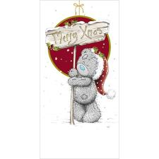 Bear With Merry Xmas Sign Me to You Bear Gift/Money Wallet