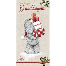 Special Granddaughter Me to You Bear Gift/Money Wallet
