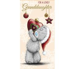 Granddaughter Me to You Bear Christmas Money Wallet