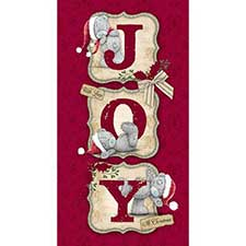 Love & Joy at Christmas Me to You Bear Card