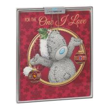 One I Love Me to You Bear Handmade Boxed Christmas Card