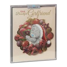 Beautiful Girlfriend Me to You Bear Handmade Boxed Christmas Card
