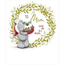 Mum You're One In A Million Me to You Bear Christmas Card