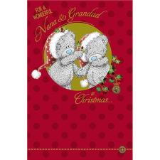 Wonderful Nana & Grandad Me to You Bear Christmas Card