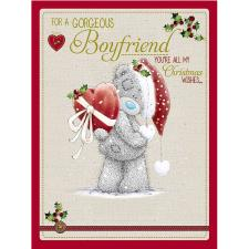 Gorgeous Boyfriend Large Me to You Bear Christmas Card