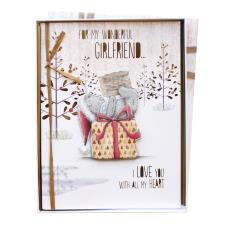 Girlfriend Me to You Bear Boxed Christmas Card