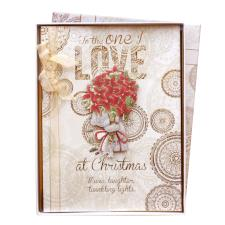 One I Love Me to You Bear Boxed Christmas Card