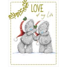 Love Of My Life Large Me to You Bear Christmas Card