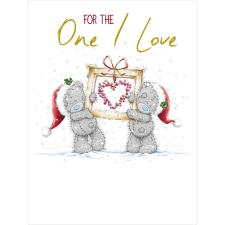 One I Love Large Me to You Bear Christmas Card