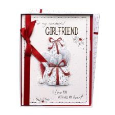 Wonderful Girlfriend Me to You Bear Luxury Boxed Christmas Card