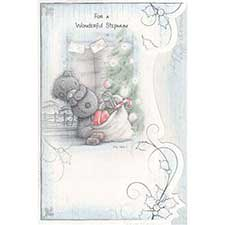 Wonderful Stepmum Me to You Bear Christmas Card