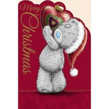 Tatty Teddy With Bauble Heart Me to You Bear Christmas Card