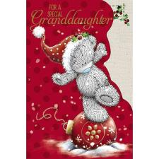 Special Granddaughter Me to You Bear Christmas Card