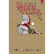 Boyfriend Me to You Bear Christmas Card