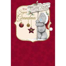 Super Grandma Me to You Bear Christmas Card