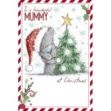 Wonderful Mummy Me to You Bear Christmas Card