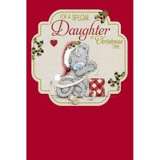 Special Daughter Me to You Bear Christmas Card