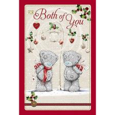For Both Of You Me to You Bear Christmas Card