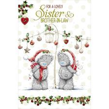Sister and Brother in Law Me to You Bear Christmas Card
